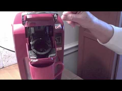 Parents Cleaning One Cup Keurig Mini Plus Coffee Maker