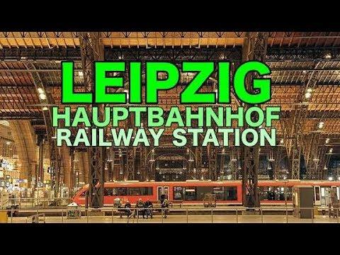 Leipzig Hauptbahnhof Promenaden | Central Railway Station | Germany