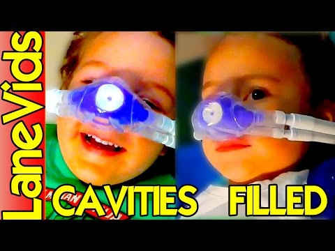 👫 KIDS CAVITY FILLING at the Dentist 😁   LaneVids