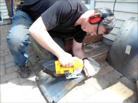 Cutting Stainless Steel Sheets With A Jig Saw