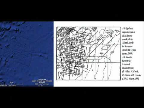 Atlantis Found in Google Earth Bathymetric Map?