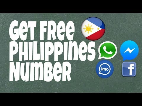 Create your own Philippines number for free || get disposable number ||