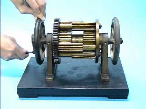NTU F14 differential spur gear train