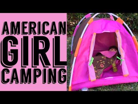 American Girl Goes Camping