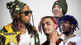 Famous 5   Lil Rappers... from Lil Wayne to Lil Pump, Lil Uzi Vert & Lil Xan ???