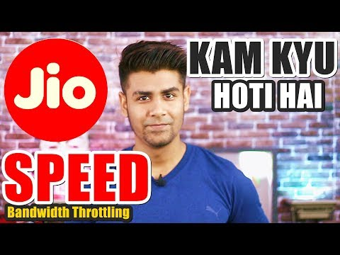 Why Jio Slows Down Your Speed ? | What is Bandwidth Throttling