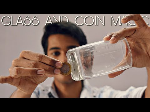 Easy Magic Trick of Coin and Glass Cup Revealed in Hindi || you can do at home