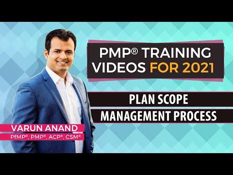 PMBOK 6 Edition Videos - Scope Management - Plan Scope Management Video -2 (2018)