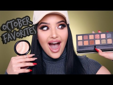 OCTOBER FAVORITES! ♡ MAC, ABH, KYLIE COSMETICS, & MORE!