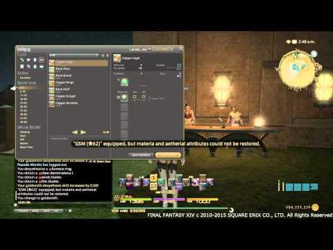 Final Fantasy XIV ARR - Leveling Desynth 90-110