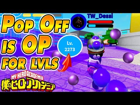 Pop Off Quirk Is OP Boku No Roblox Remastered - PakVim net