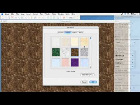 Using Microsoft Word : How to Create Templates (Stationery) in Microsoft Word
