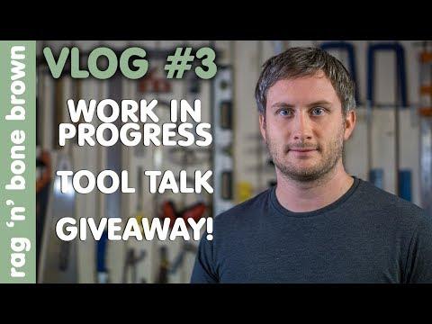 Vlog 3 - Work In Progress / Tool Talk (NEW TOOLS Hitachi / Bosch / Mirka) / Giveaway (ToolFreak)