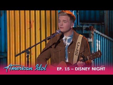 Caleb L. Hutchinson: He's Got A SEXY Voice - Says Idina Menzel  | American Idol 2018