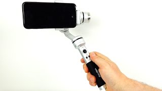 Stabilise smartphone video with the AiBird Uoplay Gimbal - Full Demo