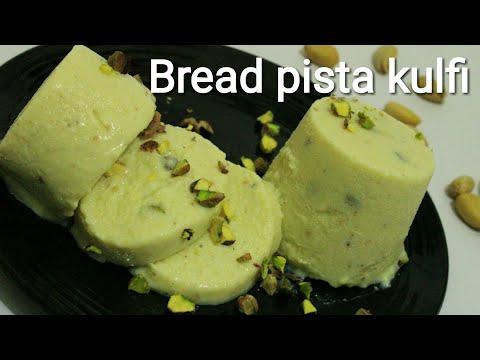 Kulfi recipe - Bread pista kulfi - Bread kulfi - Pista kulfi - Bread pista kulfi recipe