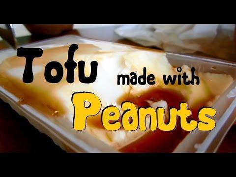 JAPANESE FOOD - Jimamidofu (Tofu made from peanuts) in Okinawa