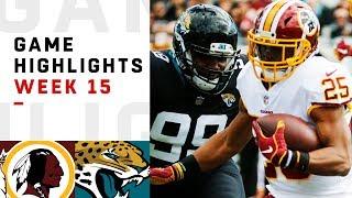 Redskins vs. Jaguars Week 15 Highlights   NFL 2018