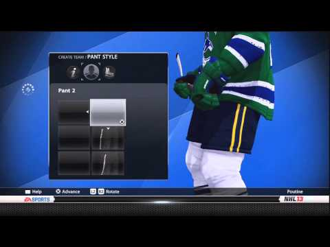 NHL13: The Sweat Shop #2: Canucks New Third Jersey