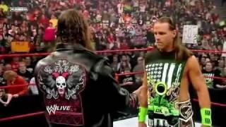 WWE RAW Bret Hart & Shawn Michaels 01.04.2010