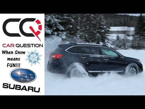 2018 Subaru Outback | Fun in the SNOW and ICE! | Short review Part 1/6