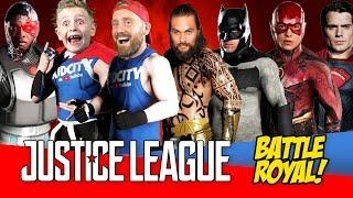 Justice League Battle Royal with Batman Superman & Wonder Woman by KIDCITY