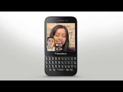BBM Video with Screen Share: BlackBerry Q5 - Official How To Demo
