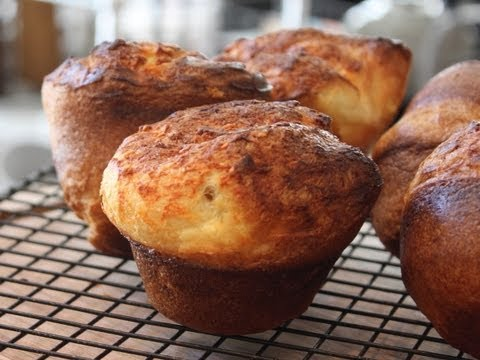 Popovers! NOT Yorkshire Pudding -  How to Make Popover Dinner Rolls
