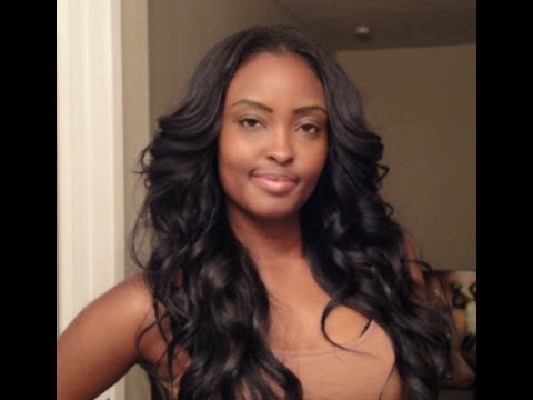My farrah fawcett inspired curls! TUTORIAL =)