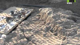 Vulci: scoperta tomba etrusca del sesto secolo a.C.