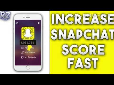 How To Increase Your Snapchat Score In Hindi