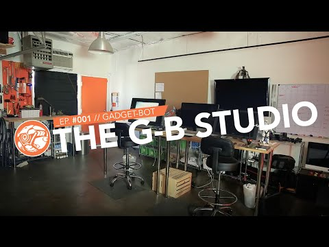 [Ep. 001] Gadget-Bot studio space redesign