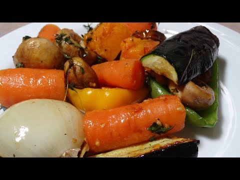 Roasted and Grilled Veggies in the Weber Kettle