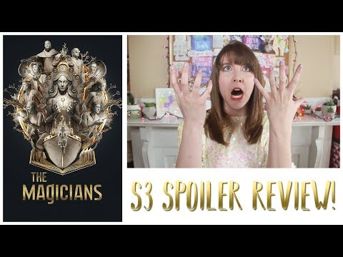 Reactions to Season 3 of The Magicians (SPOILERS!)