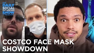 A Costco Face Mask Showdown | The Daily Social Distancing Show
