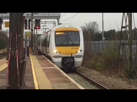 c2c Class 357 034 Arriving at Upminster for Grays at Platform 1a