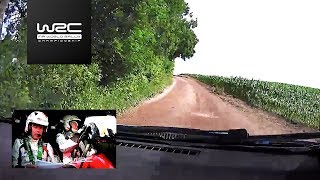WRC - ORLEN 74th Rally Poland 2017: ONBOARD Latvala SS11