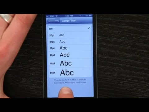 How Do I Change Fonts on the iPhone? : Tech Yeah!