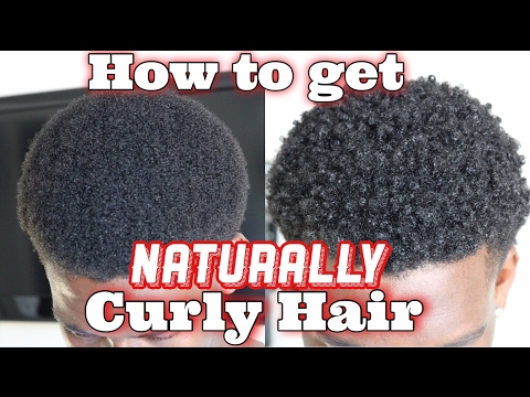 HOW TO GET NATURALLY CURLY HAIR | Curly Hair Routine