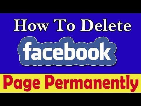 How To Delete Your Facebook Page Permanently 2018 || Facebook Page Kaise Delete Kare || Hindi me