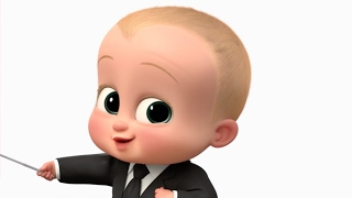 The Boss Baby - Boss Baby Talks Customers | official FIRST LOOK clip (2017) Alec Baldwin