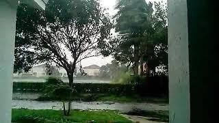 Irma RAW cell phone footage miami