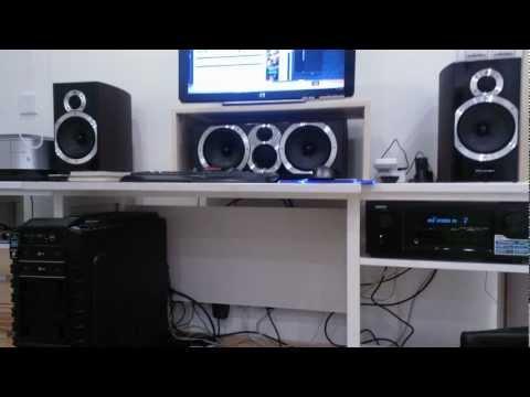 Wharfedale speaker test