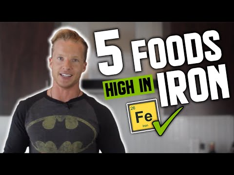 5 Iron-Rich Fitness Foods