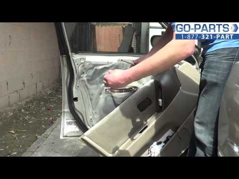 Replace 1993-1997 Nissan Altima Side Mirror, How to Change Install 1994 1995 1996 NI1320120