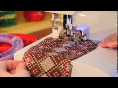How To Use A Side Cutter (Cut & Hem) Foot