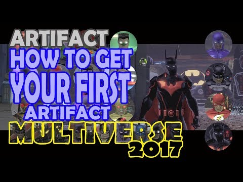 DCUO; How to get your FIRST Artifact