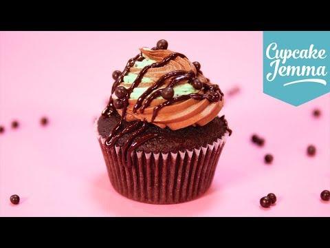 Mint Choc Chip Cupcakes | Cupcake Jemma
