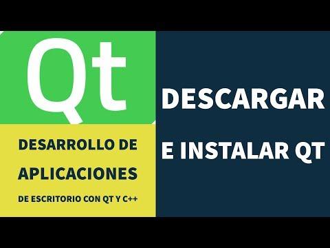 Descargar e instalar Qt - Desarrollo de aplicaciones de escritorio con C++ y Qt