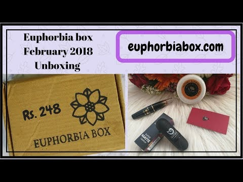 euphorbiabox.com / Products worth 1100 Rs. in only 248 Rs./ Cheapest subscription box ever